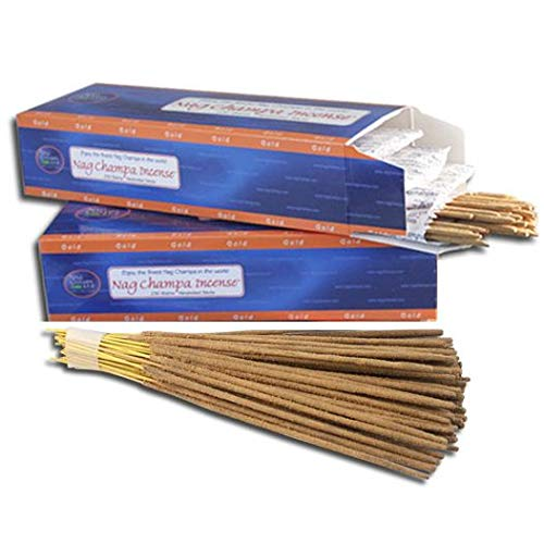 Nag Champa Gold Incense- Bulk 500 Sticks Pack with Free Holder by Nag Champa Spa (Image #2)