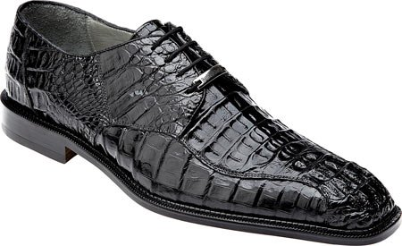 Belvedere Men's Chapo Genuine Hornback Crocodile Exotic Skin Oxford Dress Shoes 1465 (13, Black) (Belvedere Shoes For Men compare prices)