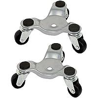 fireangels 2pcs 3Rueda Movimiento con ruedas rueda Dolly