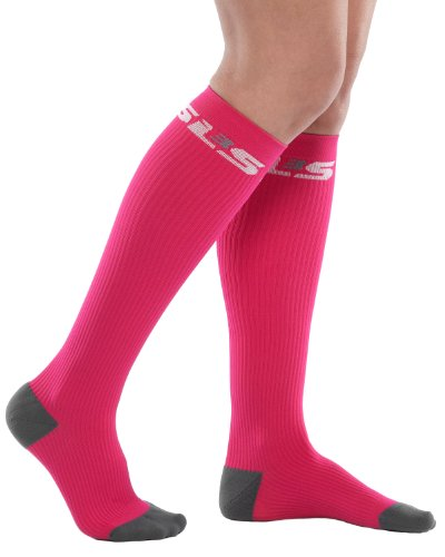 SLS3 Compression Recovery Socks -  Fuchsia Pink