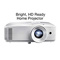 Optoma H184X Affordable Home Theater Projector for Indoor or Outdoor Movies   Bright 3600 Lumens for Lights-on Viewing   3D-Compatible   Speaker Built in