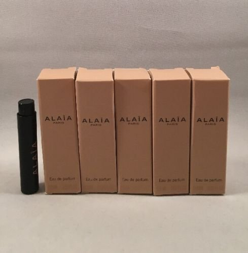 5 Alaia Paris Edp Women Spray Sample Travel Size Vial 0 8 Ml 0 02 Oz Each Lot