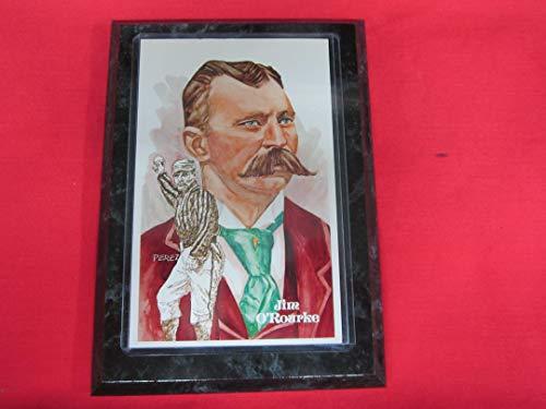 Giants Jim O'Rourke Limited Edition Perez Steele Postcard Mounted on a 5