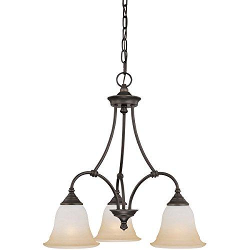 - Thomas Lighting SL8803-62 Harmony 3-Light Aged Bronze Chandelier 20