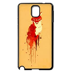 Samsung Galaxy Note 3 N9000 2D Custom Phone Back Case with Fox Image
