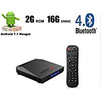 M96X MAX Android 7.1 TV BOX 2GB 16GB Amlogic S905X Quad Core 2.4GHz WiFi HDMI 4K Smart TV BOX