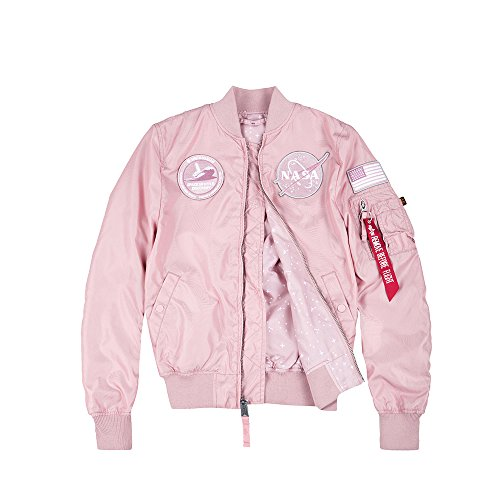 Industries Jacket Women Nasa 1 Ma Silver Pink Wmn Reversible Tt Alpha AwdTEq5xd
