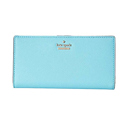 Kate Spade New York Women's Cameron Street Lacey Zip Around Wallet, Atoll Blue, One Size by Kate Spade New York