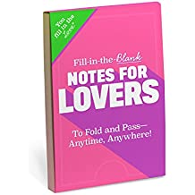 Knock Knock Fill in the Love Notes for Lovers