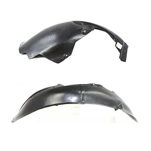 Koolzap For 02-06 Sebring/Stratus Front Splash Shield Inner Fender Liner Left Right SET PAIR