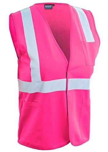 ERB Safety Products 61332 ERB S762P Safety Vest, Large, Pink ()