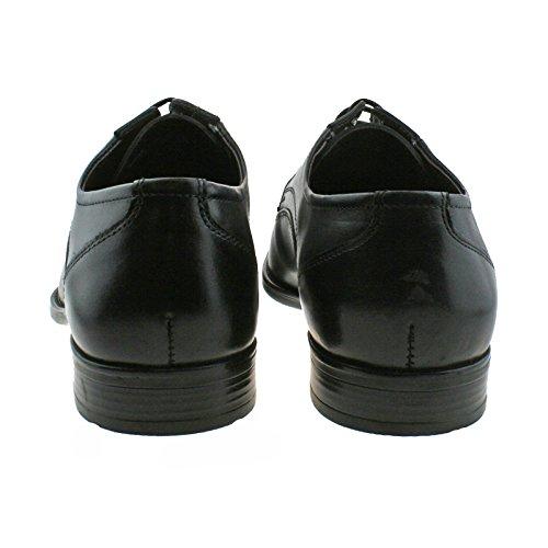 Lotus Birkdale Mens Plain Toe Formal Shoes Black