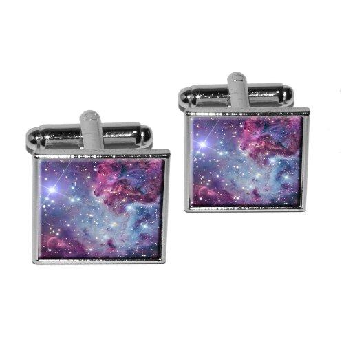 Fox Fur Nebula Galaxy Cufflink
