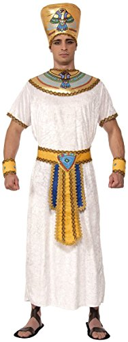 Adult Man Costumes Egyptian (Forum Novelties Men's Egyptian King Costume, Multi, One)