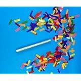 Confetti Sticks Flutter fetti Multi Color Tissue Confetti Paper Confetti Flickers 14inch - 10pieces
