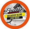 Brooklyn Beans Breakfast Blend Coffee Pods for Keurig K Cups Coffee Maker, 40 Count