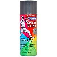 Abro Colour Spray Paint (400ml, Haier Grey)