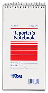 TOPS Gregg Ruled Reporter's Notebook (8030)