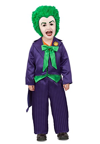 Joker Girl Halloween Costume (The Joker Toddler Costume X-Small)
