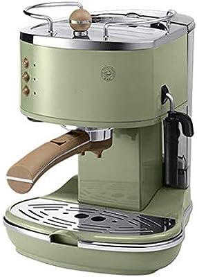Cafetera cafetera semiautomática retro bomba de presión italiana en casa Crema de leche café con leche, capuchino, americano, máquina de café con leche Máquina de café con filtro: Amazon.es: Hogar