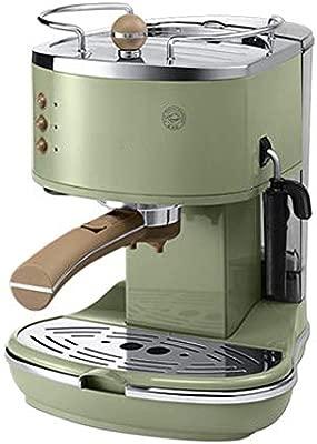 Cafetera cafetera semiautomática retro bomba de presión ...