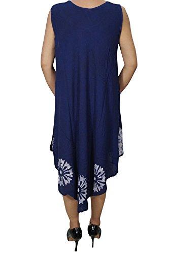 XL Blue Damen Interior 2 Linie Mogul Kleid Blau A 60XRqwx