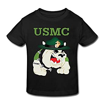 Amazon Cute Baby Kid s USMC Devil Dogs Cotton Shirt