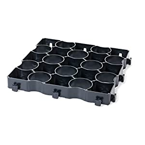 41e0CA2mtvL. SS300  - Grid grass ground and drive stabilisation reinforcement 2M² Retail Pack Black
