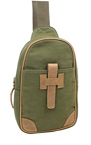 vagabond-traveler-cotton-canvas-chest-pack-travel-bag-ck90green