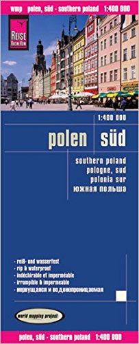 Reise Know-How Landkarte Polen, Süd (1:400.000): world mapping project