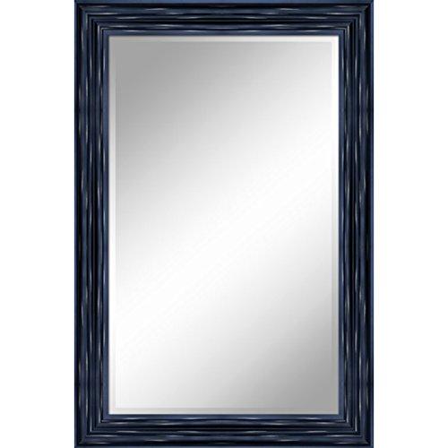 Y Decor ZM2436AB 24 X 36 Mirror 1'' Bevel 3.5'' Frame Accent, Antique Black by Y Decor