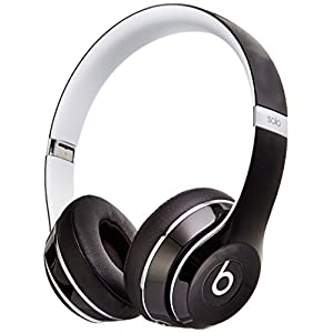 Beats Solo2 Wired On-Ear Headphone, Luxe Edition – Black