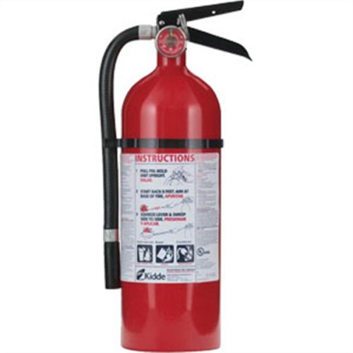 Fire Extinguishers Charge Weight - KID21005779 - Kidde Pro 210 Fire Extinguisher
