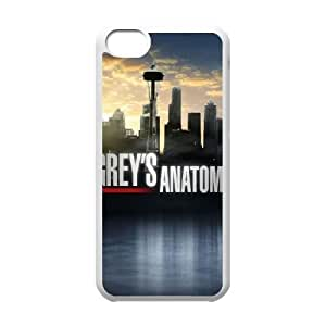 YUAHS(TM) Phone Case for Iphone 5C with Grey's Anatomy YAS353416