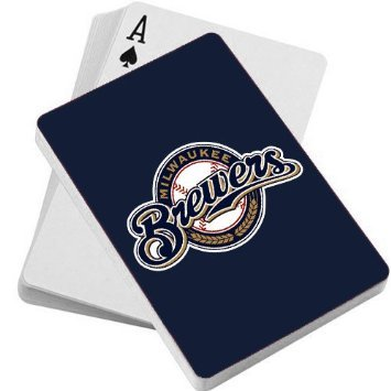 MLB Milwaukee Brewers Playing Cards
