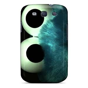 Durable Cookie Monster 2 Back Case/cover For Galaxy S3 by Maris's Diary