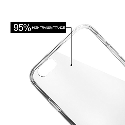 Bingsale Premium Bumper case iPhone 6 / 6S Schutzhülle hülle hardcase (transparent, iPhone 6 / 6S)