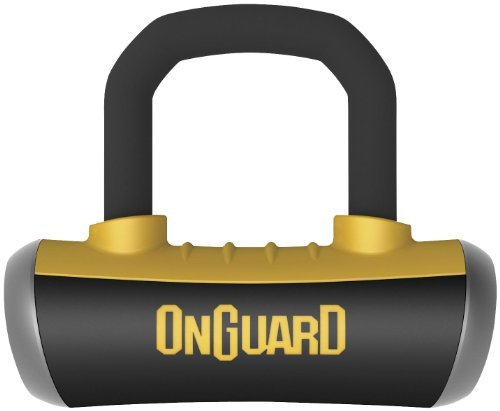 ONGUARD Boxer X4 Disc Lock with Disc Reminder (16mm) (Black)