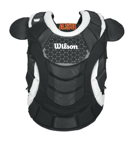 UPC 883813908608, Wilson Promotion Fast Pitch Chest Protector with Isoblox, Black, Adult