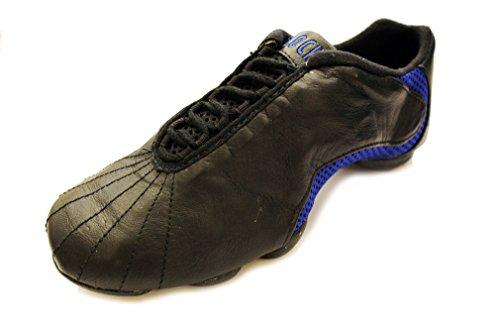 Bloch Amalgam Tanz Leder Sneaker Blau Schwarz 570 pFqFwn8xv