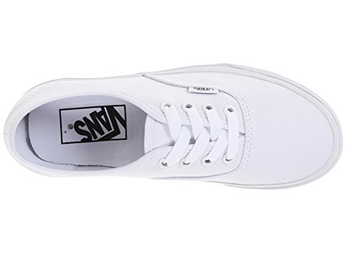 Sneakers White Unisex True US Authentic M 5 Core Classic Vans D gZqII