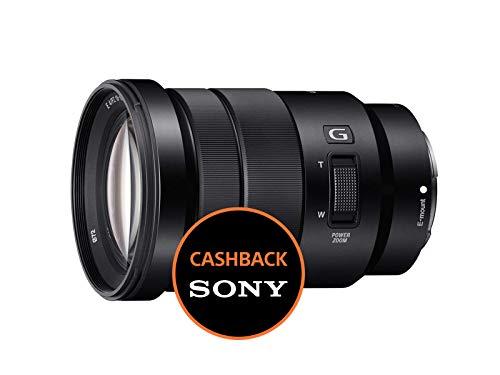 Sony SELP18105G Obiettivo con Zoom 18-105 mm F4, Serie G, Stabilizzatore Ottico, APS-C, Innesto E, Nero