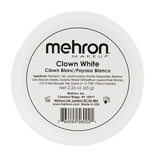 Mehron Makeup Clown White