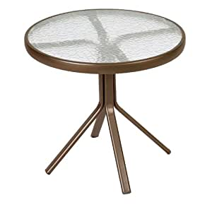 Astonica 50108262 Hadley III 20in Round Occasional Table with Aspen Finish