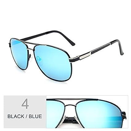 0b80b34345 TIANLIANG04 Gafas para Hombre Moda Gafas Polarizadas Guía Clásica,Negro  Gris: Amazon.es: Deportes y aire libre