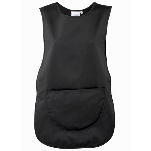 Premier Workwear Ladies Pocket Tabard, Tank Top para Hombre Negro
