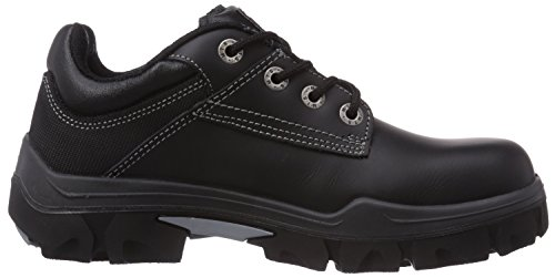 MTS Sicherheitsschuhe  M-Gecko Baxter S3 Flex 16101 - Zapatos De Seguridad de piel Unisex adulto negro - negro