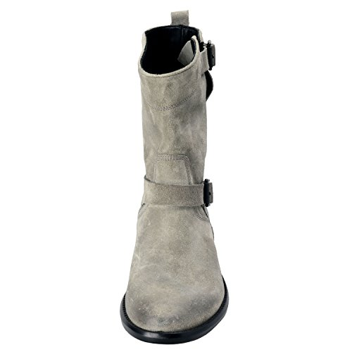 Belstaff England Womens Suede Light Gray Ankle Boots Shoes US 7 IT 38 fZce8