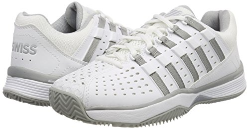 Highrise Tfw Femme Light de Chaussures Performance Blanc 01 KS White Swiss K EU 3 Bigshot Tennis XvwtxOcSq