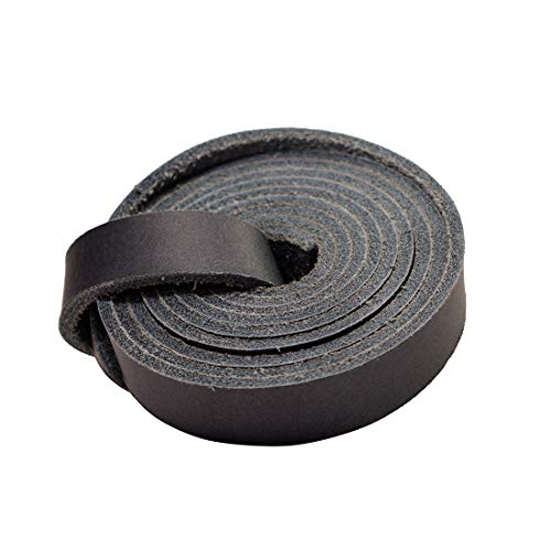 Leather Strap 3.5mm Thick / 3/4 inches Wide / 72 inches Long/Craft Workshop Handmade by Hide & Drink :: Slate -